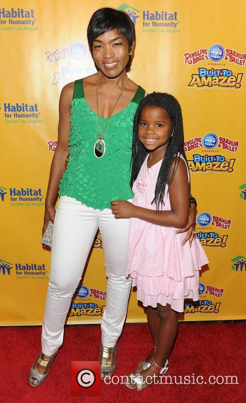 Angela Bassett and Bronwyn 1
