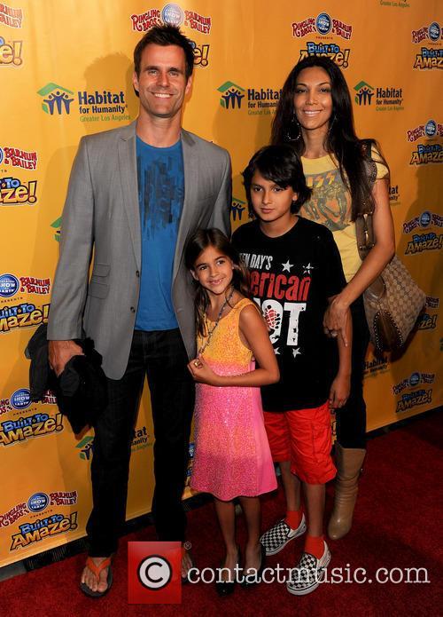 Cameron Mathison, Vanessa, Lucas and Leila