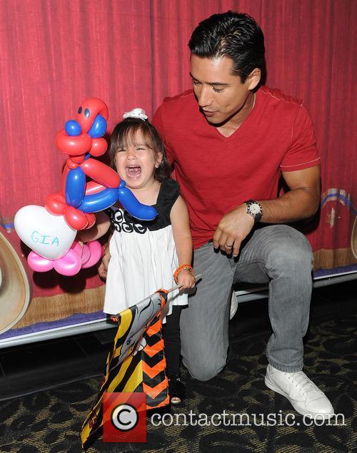 Mario Lopez and Gia 4