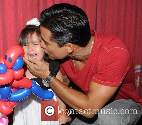 Mario Lopez and Gia 10