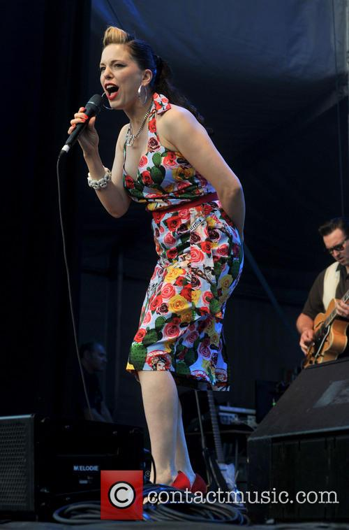 Imelda May performs live at Iveagh Gardens