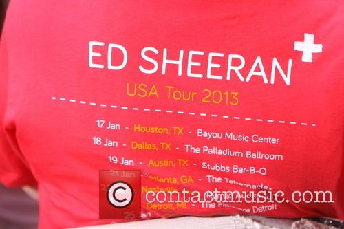 Ed Sheeran and Today 2