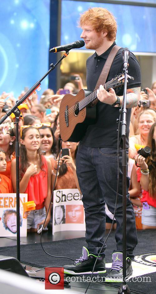 Ed Sheeran, Rockefeller Plaza