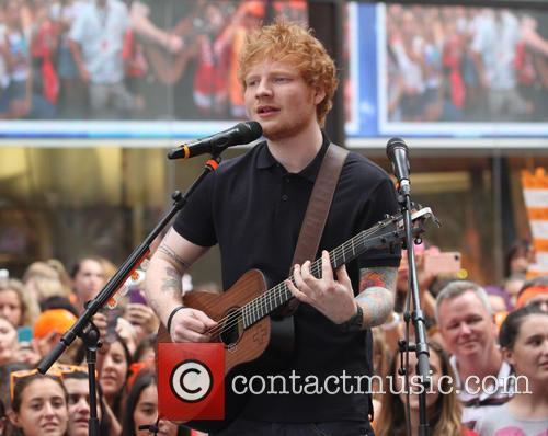 Ed Sheeran, Today Show, Rockefeller Plaza