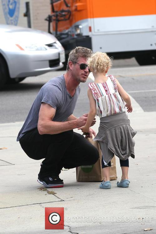 Eric Dane out with his daughter