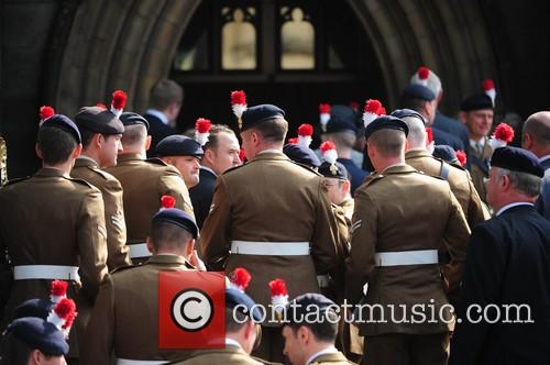 funeral of Drummer Lee Rigby