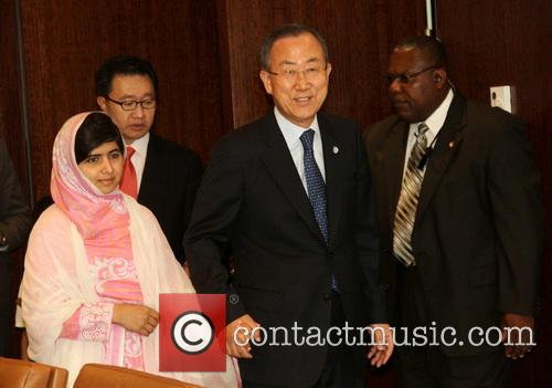 Malala Yousafzai and Ban Ki Moon 3
