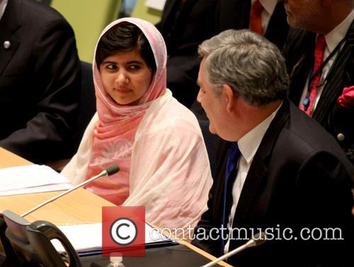 Malala Yousafzai and Gordon Brown 1