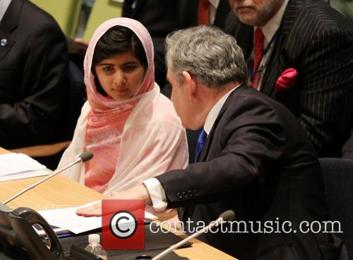 Malala Yousafzai and Gordon Brown 2