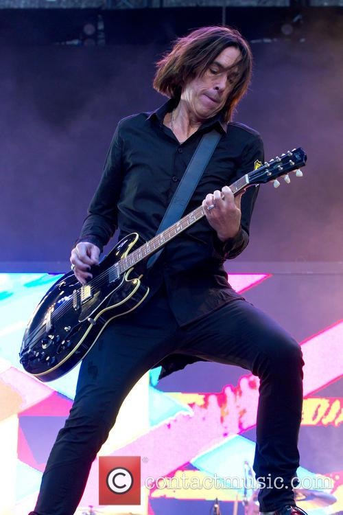 Per Gessle performs live with his band Gyllene...
