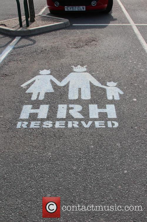 Duke and Duchess of Cambridge ASDA car parking...