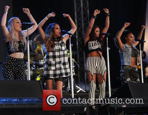 Little Mix, Perrie Edwards, Jesy Nelson, Jade Thirlwall, Leigh-Anne Pinnock, Queen Elizabeth Olympic Park, Wireless Festival
