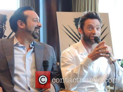 James Mangold and Hugh Jackman 2