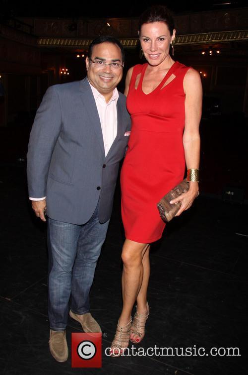 Gilberto Santa Rosa and Countess Luann De Lesseps