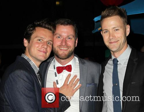 Jonathan Groff, Guido Gotz and Christopher Hanke 1