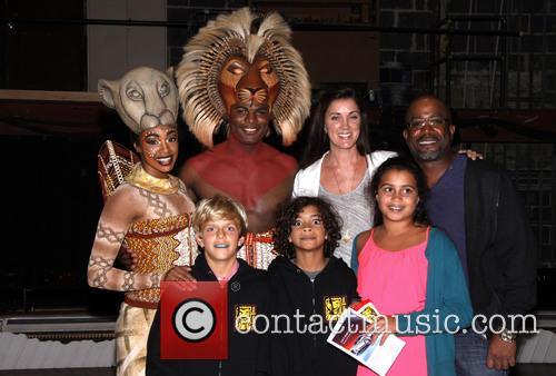 Chantel Riley, Andile Gumbi, Darius Rucker and Family 1