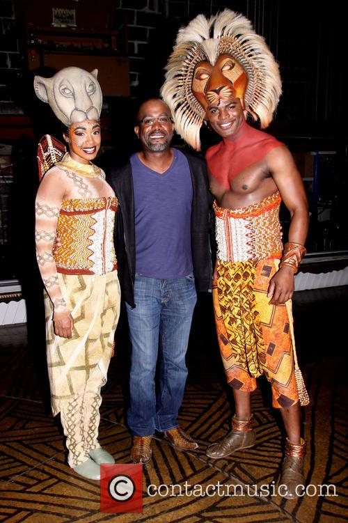 The Lion King Backstage