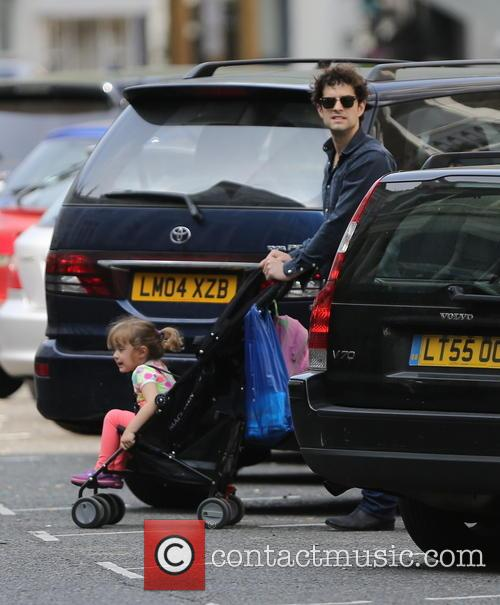 Lee Mead and his daughter take a long...