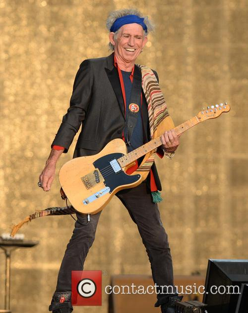 Keith Richards, The Rolling Stones, Barclaycard British Summer Time