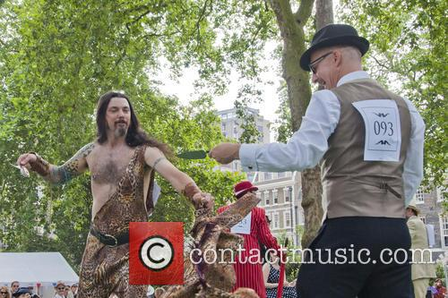 The Chap Olympiad 2013 at Bedford Square Gardens