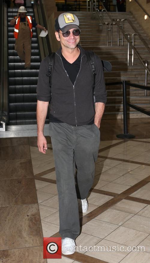 John Stamos, LAX airport