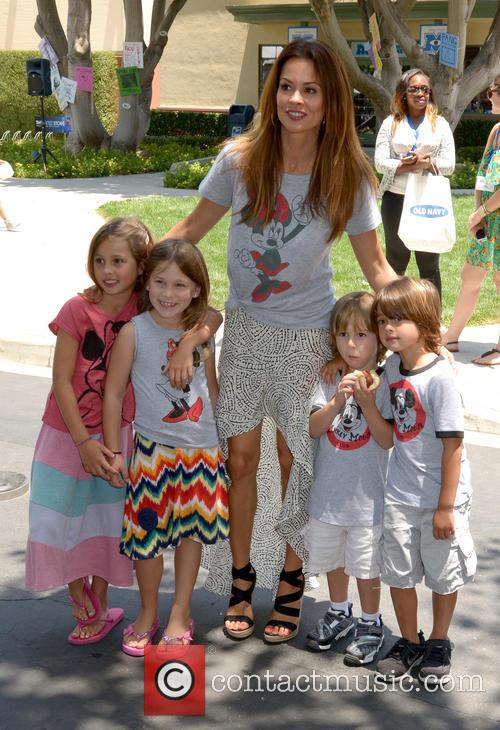 Brooke Burke, Heaven Rain Charvet, Neriah Fisher, Sierra Sky Fisher and Shaya Braven Charvet 7