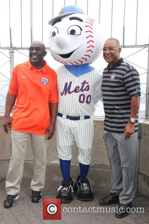 Mookie Wilson and Ozzie Smith visit The Empire...