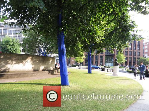 The Blue Trees In London