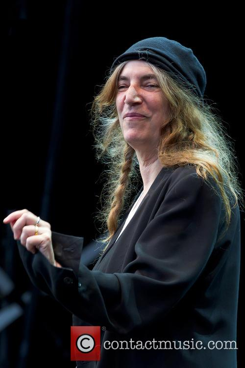 Patti Smith performs live at Garden Society of...