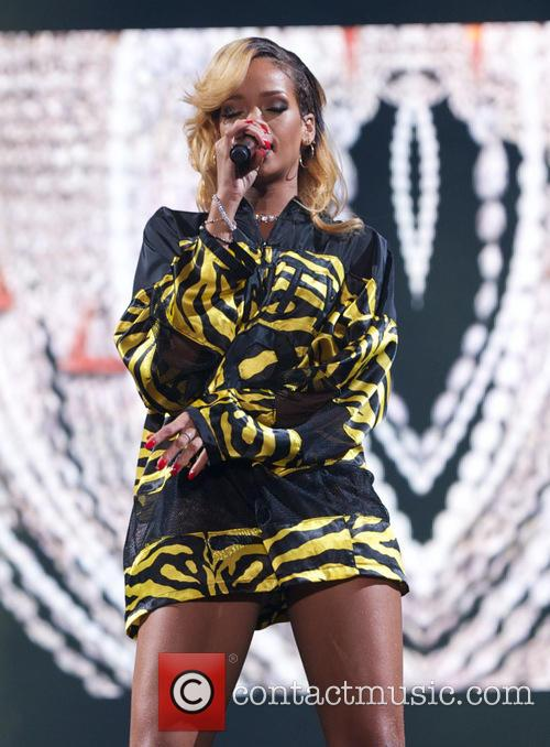 Rhianna at T IN THE PARK