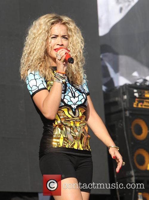 Rita Ora, Queen Elizabeth Olympic Park