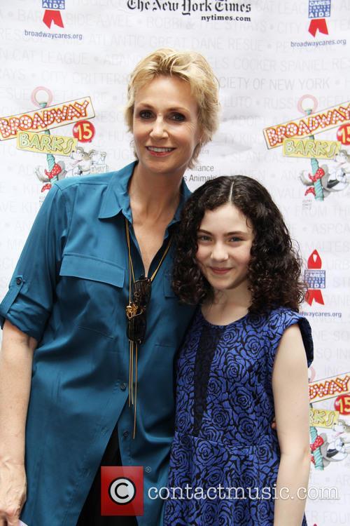 Jane Lynch and Lilla Crawford 3