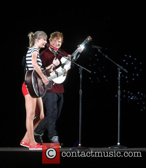 Taylor Swift and Ed Sheeran 8