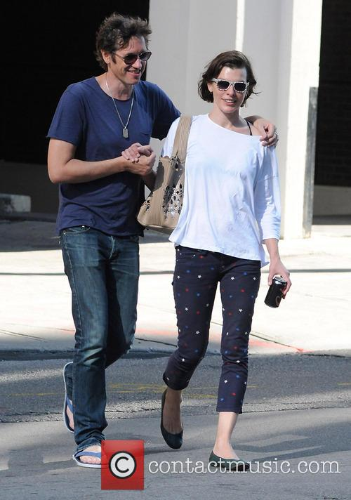 Milla Jovovich and Paul W.S.Anderson 5