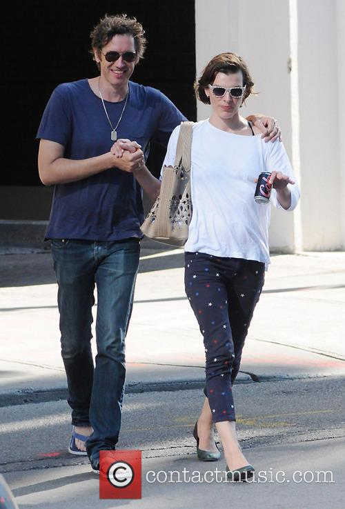 Milla Jovovich and Paul W.S.Anderson 7