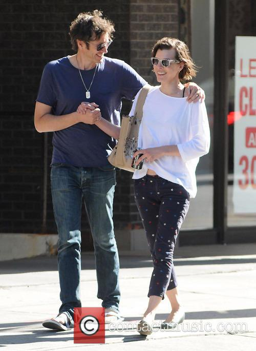 Milla Jovovich and Paul W.S.Anderson 8
