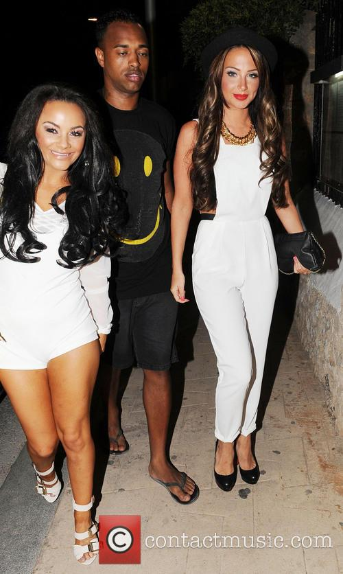 Chelsee Healey and Tulisa Contostavlos 1