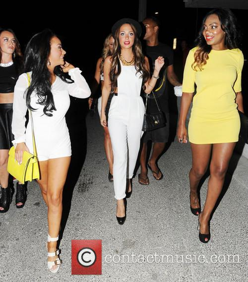 Chelsee Healey and Tulisa Contostavlos 2