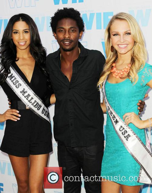 Brittany Mcgowan, Shwayze and Chloe Hope Hatfield 2