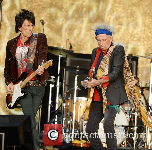 Ronnie Wood, Keith Richards and The Rolling Stones 2