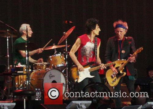 Keith Richards, Ronnie Wood, Charlie Watts, The Rolling Stones, Hyde Park, Barclaycard British Summer Time