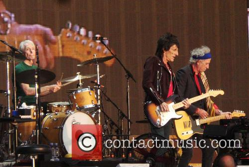 Keith Richards, Ronnie Wood, The Rolling Stones, Hyde Park, Barclaycard British Summer Time