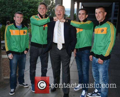 Celebrities outside the RTE studios for 'Saturday Night...