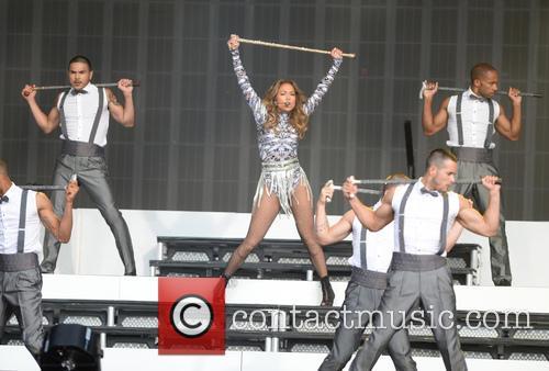 Jennifer Lopez at Barclaycard British Summer Time Hyde...