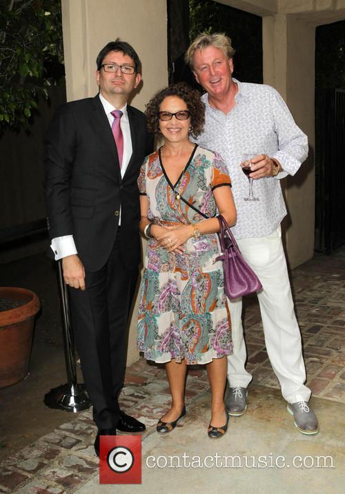 Bastille, French Consul Mr. Axel Cruau, Clara-lisa Kabbaz and Gabor Szabo