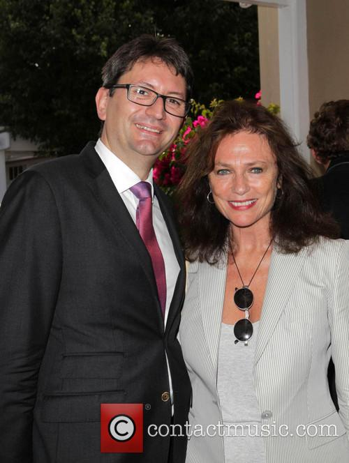 French Consul Mr. Axel Cruau, Jacqueline Bisset, French Consul Residence