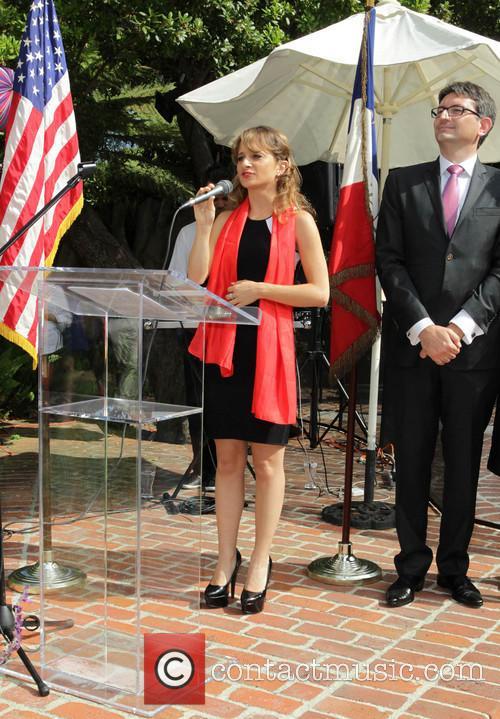 Bastille, Maria Elena Infantino and French Consul Mr. Axel Cruau 1