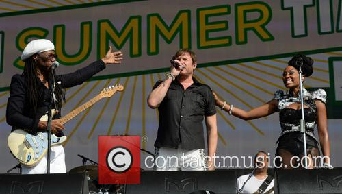 Nile Rodgers, Chic and Simon LeBon 4