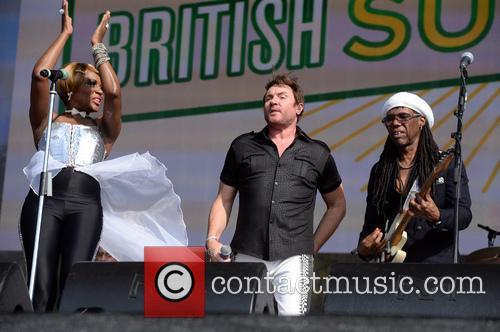 Nile Rodgers, Chic and Simon LeBon 1