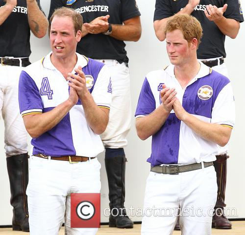 Prince Harry and Prince William 9